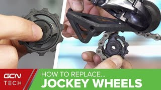 Download How & When To Replace Your Derailleur Jockey Wheels Video