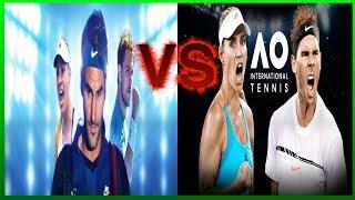Download Tennis World Tour VS AO International Tennis🎾👑 Das Duell! Video