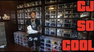 Download CJ SO COOL $500,000 SNEAKER COLLECTION!! (Part 1) Video