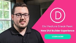 Download Divi Feature Sneak Peek: A New Divi Builder Experience is Coming! Video