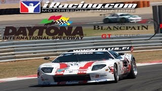 Download iRacing Blancpain GT3 Sprint series at Daytona - Another Crazy fun race Video
