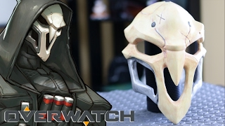Download 3D Printed OVERWATCH REAPER Mask From Start to Finish - How To Make Video