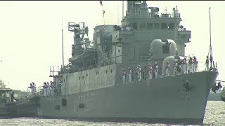 Download PH Navy receives warship donated by South Korea Video