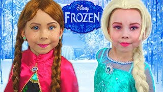 Download Frozen Elsa And Anna - HOW TO turn into character? Video