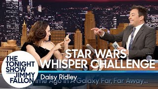 Download Star Wars Whisper Challenge with Daisy Ridley Video