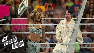 Download Shocking Money in the Bank Ladder Match moments: WWE Top 10, June 16, 2018 Video