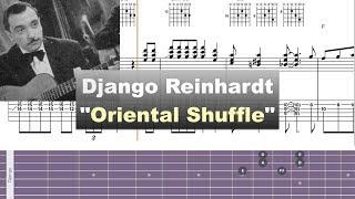 Download Django Reinhardt - ″Oriental Shuffle″ - Virtual Guitar Transcription by Gilles Rea Video