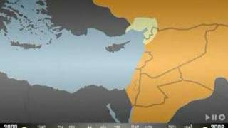 Download Israel map throughout history Video