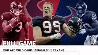 Download 2011 AFC Wild Card: Cincinnati Bengals vs. Houston Texans | NFL Full Game Video