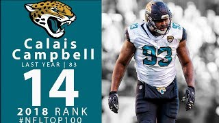 Download #14: Calais Campbell (DE, Jaguars) | Top 100 Players of 2018 | NFL Video