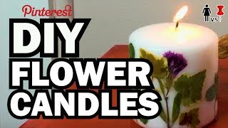 Download DIY Pressed Flower Candles, Corinne VS Pin #26 Video