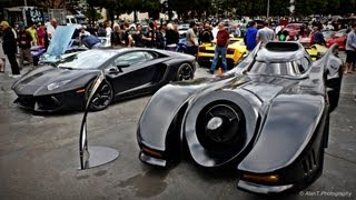 Download Original Batmobile & Lamborghini Aventador! Jeff Dunham's Batmobile Batman Returns Detail Tour Video
