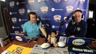 Download Dunc and Holder on Sports 1280 in New Orleans. Friday, Feb. 16, 2018. Video
