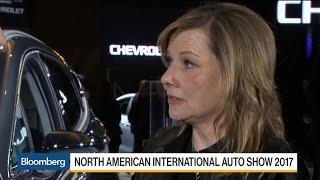 Download GM CEO Barra on Trump, SUVs, Autonomous Vehicles Video