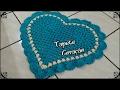 Download Tapete Coração de Crochê Video