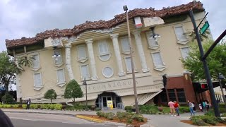 Download Wonderworks Orlando - Upside Down Attraction / Laying on Bed of Nails Video