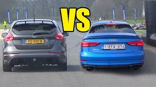 Download AUDI RS3 vs FORD FOCUS RS 🔥🚀DRAG RACE🚀🔥 Video