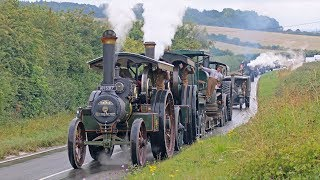 Download Incredible WW1 Military Vehicle Convoy Steam Through Dorset 11/8/18 Video