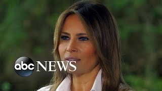 Download First lady Melania Trump on immigration, family separation and 'the jacket' (NIGHTLINE) Video