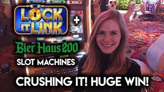 Download Absolutely CRUSHING Bier Haus 200 Slot Machine! Bonus HUGE Win!!! Video