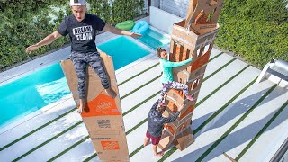 Download TALLEST BOX FORT WINS $10,000 Video
