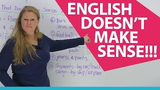 Download 10 words in English that don't make sense! Hmmm... Video