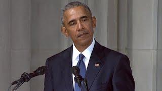 Download Former President Barack Obama honors Sen. John McCain Video