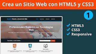 Download Diseña un Sitio Completo con HTML5 y CSS3 Parte 1 - Etiquetado Video