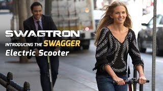 Download Introducing the SWAGGER by SWAGTRON - The world's lightest carbon fiber powered electric scooter Video