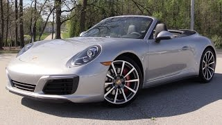 Download 2017 Porsche 911 Carrera 4S Cabriolet - Start Up, Road Test & In Depth Review Video