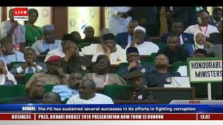 Download Full Speech Of President Buhari At NASS Pt.2 |Live Event| Video