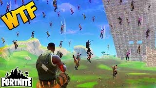 Download 100 PLAYERS FALL FROM SKY! - Fortnite Funny Fails and WTF Moments! #75 (Daily Moments) Video