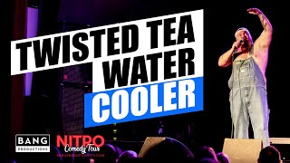 Download COMEDIAN CATFISH COOLEY: TWISTED TEA WATER COOLER! LOL FUNNY LAUGH COMEDY Video
