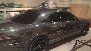 Download Mercedes CL 500 Черный хром Video