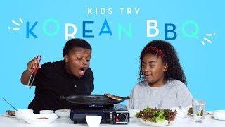 Download Kids Try Korean BBQ | Kids Try | HiHo Kids Video