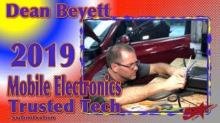 Download Dean Beyett's 2019 Mobile Electronics Industry's Trusted Tech submission Video