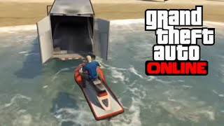 Download GTA 5 Online - How to Haul a Jetski Video