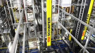 Download Storage and Retrieval Machine, High-Bay Warehouse, Logistics Software, Vinamilk in Asia Video