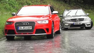 Download New Audi RS4, Old Audi RS4s, New RS4 v C63. Phew. - /CHRIS HARRIS ON CARS Video
