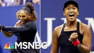 Download Was Tennis Star Serena Williams The Victim Of A Double Standard? | Velshi & Ruhle | MSNBC Video
