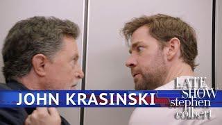 Download John Krasinski Is An Action Guy Now Video