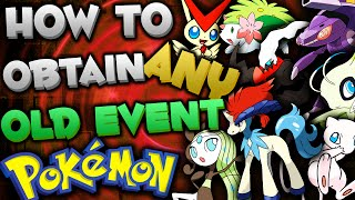 Download GET OLD EVENT POKEMON *NEW EVENTS* in Omega Ruby & Alpha Sapphire (Event Pokemon Distridution 2016) Video