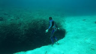 Download Never be Nery freediving in Vouliagmeni Video