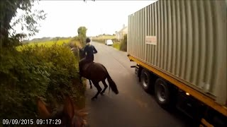 Download Dangers faced by horse riders using the roads - March 2017 Video