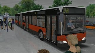 Download OMSI 2. Map Vienna, Route 24A (Invalidensiedlung - Kagran), MB O530 G Video