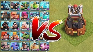 Download Clash Of Clans - BOMB TOWER!! Vs. ALL TROOPS!! (New Defense update) Video