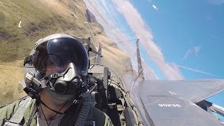 Download Breathtaking Aerial Footage From F-15E Strike Eagle Cockpit Video