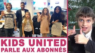 Download KIDS UNITED • Concert et Petit mot aux abonnés - Studio Bubble Tea Video