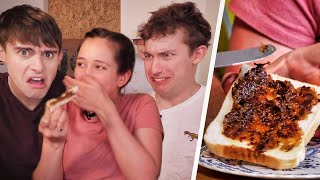 Download WEIRDEST British Spreads!? (Spicy Peanut Butter vs Black Butter!?) Video