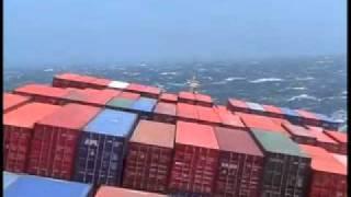 Download Navio de Carga numa tempestade.avi Video